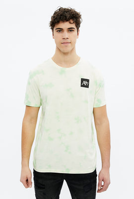Tie Dye A87 Square Graphic Tee