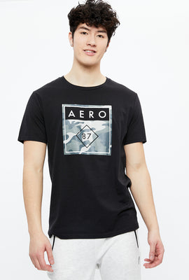 AERO 87 Camo Box Logo Graphic Tee