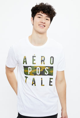 Aéropostale Camo Box  Graphic Tee