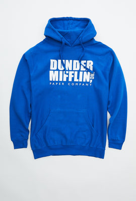 Sweat à capuche à imprimé Dunder Mifflin Co.