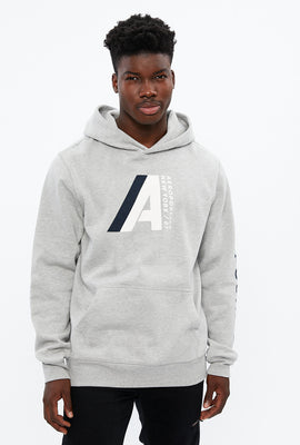 Aéropostale Large A Chest Print Graphic Hoodie