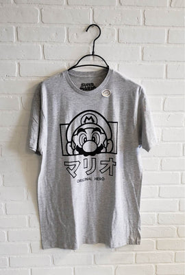 T-shirt à imprimé Super Mario Hero