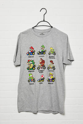 Mario Kart Roster Graphic Tee