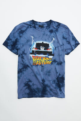 Back To The Future Tie Dye Graphic Tee