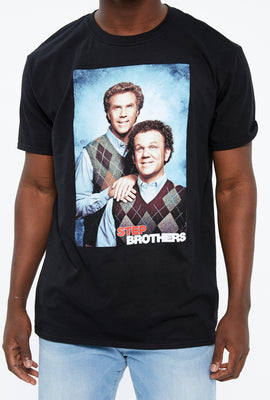 Step Brothers Portrait Graphic Tee