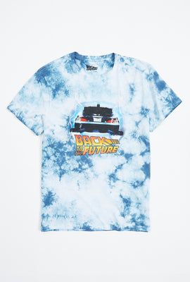 T-shirt à imprimé Back To The Future nuage