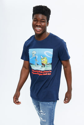 SpongeBob Krusty Krab Pizza Graphic Tee