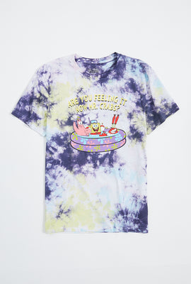 Spongebob Mr. Crabs Tie Dye Graphic Tee
