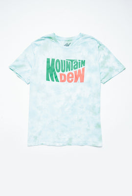 Mountain Dew Tie Dye Graphic Tee
