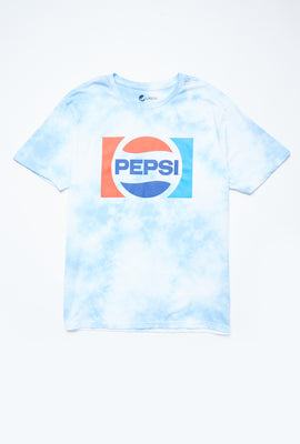 Pepsi Cola Tie Dye Graphic Tee