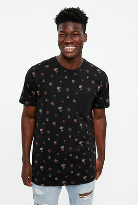 All Over Print Pocket Tee