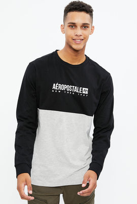 Aéropostale Cut & Sew Long Sleeve Tee