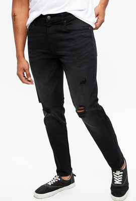 Max Stretch Athletic Skinny Destroyed Jean