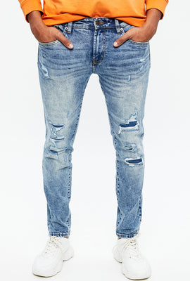 Max Stretch Skinny Destroyed Jean