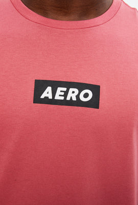 AERO Box Stamp Logo Graphic Tee