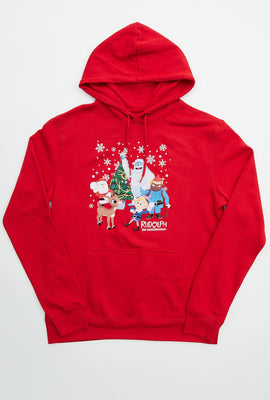Rudolph and Friends Graphic Hoodie