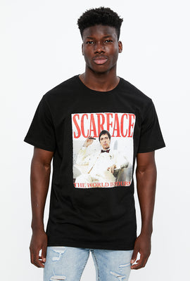 Scarface The World Is Yours Graphic Tee