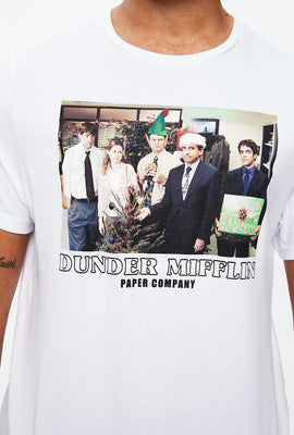 Dunder Mifflin Holiday Graphic Tee