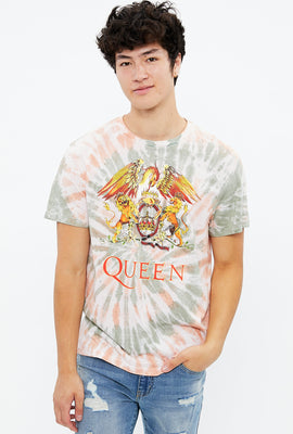 Queen Tie Dye Graphic Tee