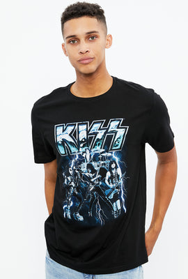 T-shirt à imprimé Kiss Electric