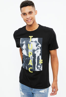 Tupac Photo Print Graphic Tee
