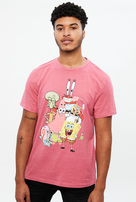 Spongebob Gang Graphic Tee
