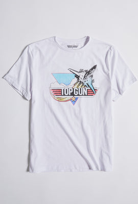 T-shirt à imprimé Top Gun