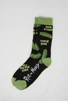 Rick and Morty Pickle Rick Socks