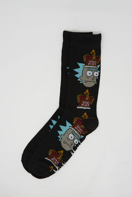 Rick and Morty King Rick Socks
