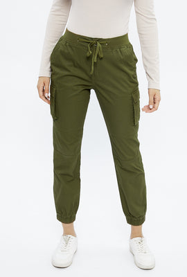High Rise Relaxed Cargo Jogger