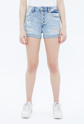 Seriously Stretchy Super High Rise Midi Short