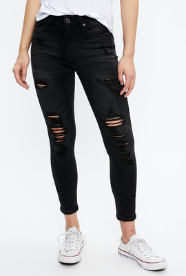Seriously Stretchy High Rise Curvy Ankle Jegging