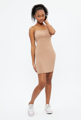 Super Soft Ruched Bodycon Dress