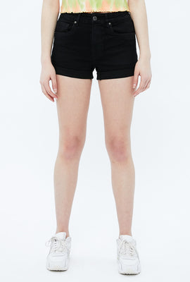 Seriously Stretchy High Rise Midi Short