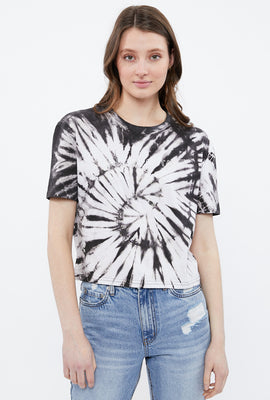 Aéropostale Crop Chest Logo Graphic Tee