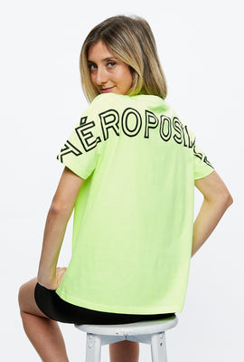 Aéropostale Oversized Large Print Tee