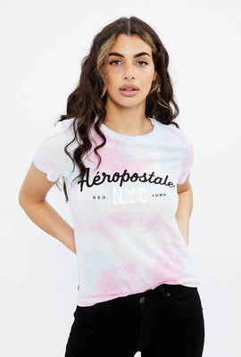 Classic Aéropostale Tie Dye Graphic Tee