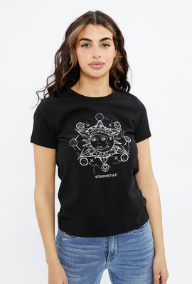 Classic Mystical Sun Graphic Tee