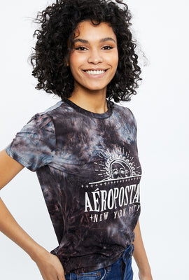 Classic Aéropostale Super Soft Tie Dye Graphic Tee