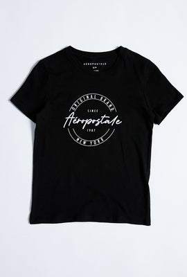 Classic Circle Logo Graphic Tee