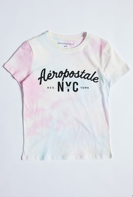 Classic Aéropostale NYC Tie Dye Graphic Tee