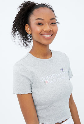 Embroidered Aéropostale New York Baby Graphic Tee