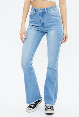 Seriously Stretchy Super High Rise Flare Jean