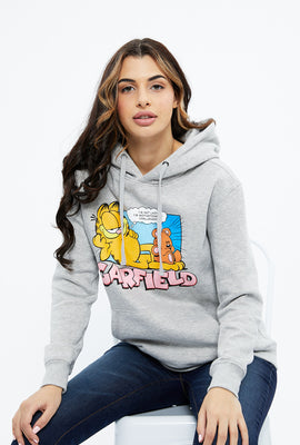 Classic Garfield Pullover Graphic Hoodie