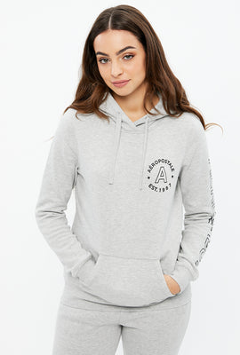 Classic Aéropostale Chest Print Graphic Hoodie