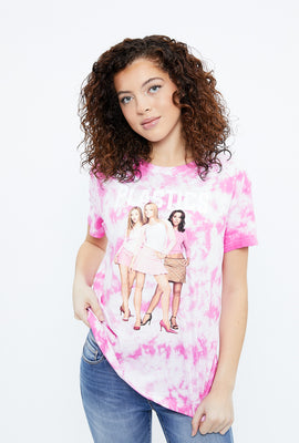 Mean Girls Tie Dye Boyfriend Graphic Tee