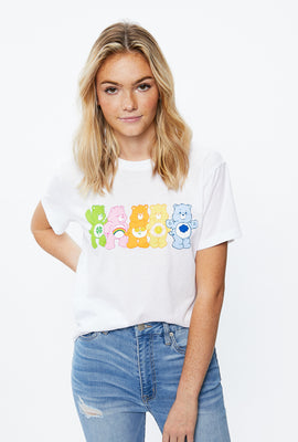 Care Bears Boyfriend Graphic Tee