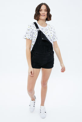 Snoopy Boxy Crop Graphic Tee