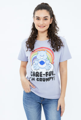 Grumpy Carebear Boyfriend Graphic Tee