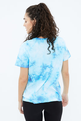 Slush Puppie Tie Dye Boyfriend Graphic Tee